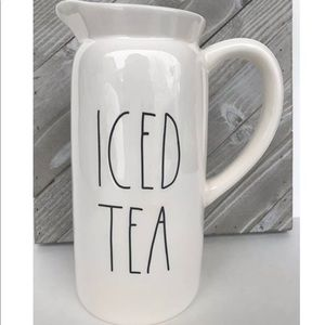 Rae Dunn Iced Tea Pitcher